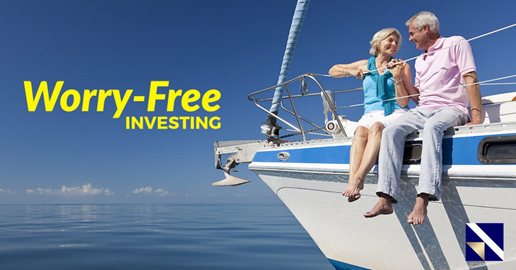 Worry-Free Investing, relaxing on a yacht